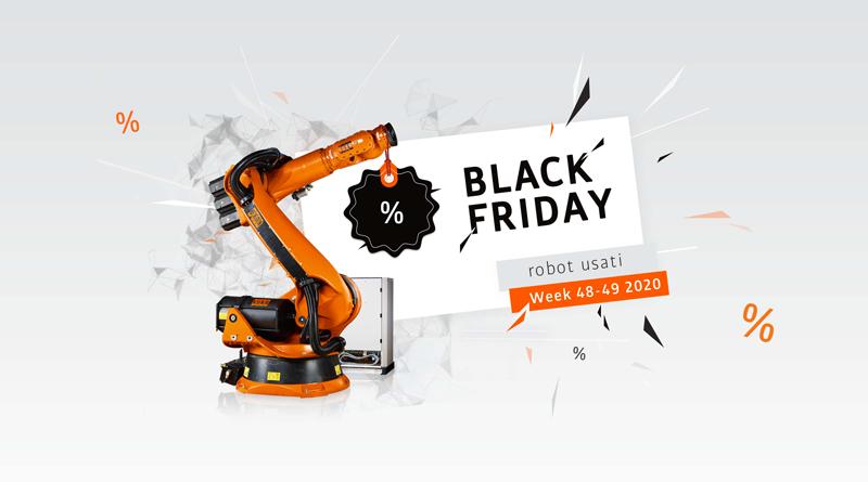 Black Friday: robot usati KUKA in super offerta