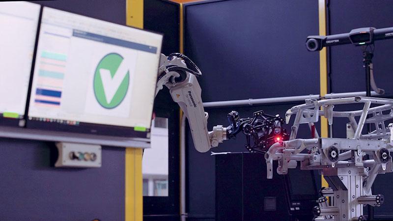 La due cella sono costituite da un robot Panasonic e del sistema Creaform.