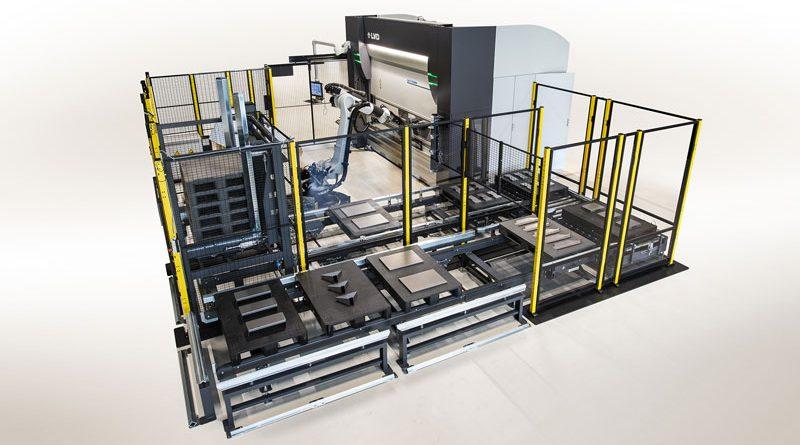 Un sistema di piegatura robotizzato