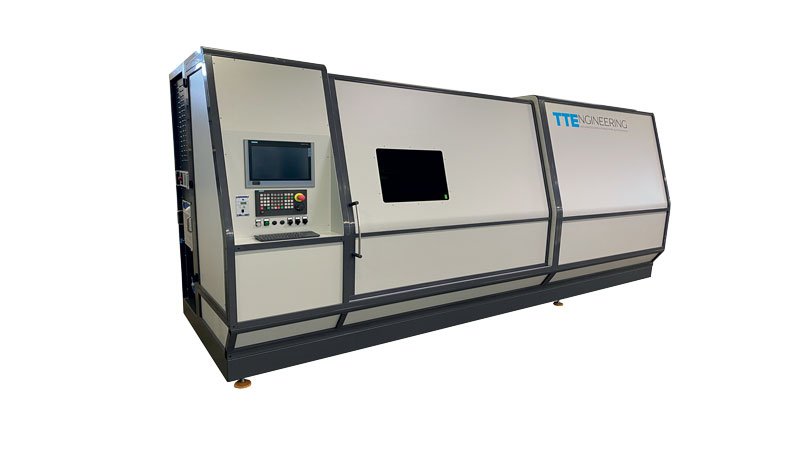 Il sistema di taglio laser per tubi TOP-S di TTEngineering ha un design moderno e un vantaggio non indifferente dal punto di vista economico.