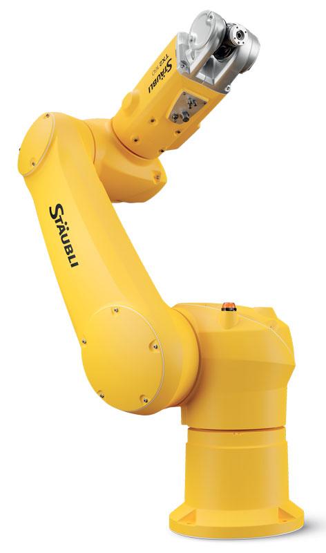 La versione a braccio lungo TX2-160L ha uno sbraccio di 2.010 mm, rispetto ai 1.710 mm della controparte standard.