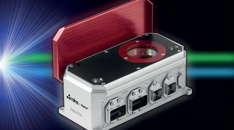 laser Ophir Helios Plus copre sia gli intervalli di lunghezze d'onda tra 450 - 550 nm (blu/verde) e 900 - 1.100 nm (infrarosso).