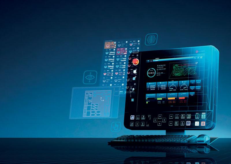I sistemi laser Mitsubishi Electric sono equipaggiati con il controllo numerico D-Cube che rappresenta un riferimento di mercato nel mondo dei CNC.