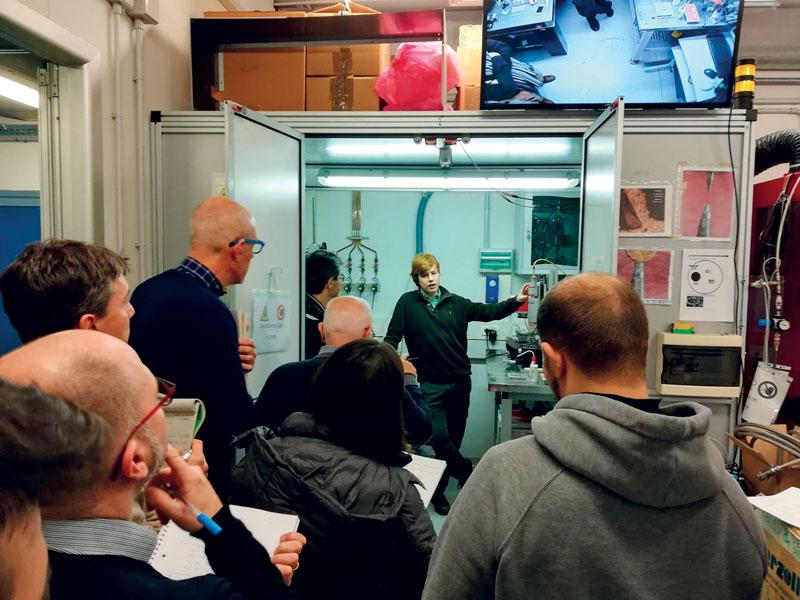 L'obiettivo è diffondere la cultura della sicurezza dei sistemi laser industriali.