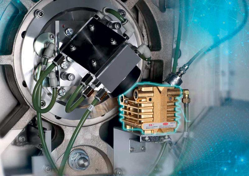 Ogni laser CrossFlow Mitsubishi Electric dispone di un sistema con lunghezza del fascio costante in cui un sensore garantisce che la potenza del laser si discosti di ±1% rispetto al valore stabilito, permettendo quindi la lavorazione di materiali altamente riflettenti, come l'alluminio e il rame anche con laser CO2.