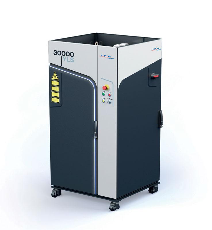 Una sorgente IPG YLS da 30 kW di potenza; la rincorsa all'elevata potenza è una delle tendenze in atto del mercato.