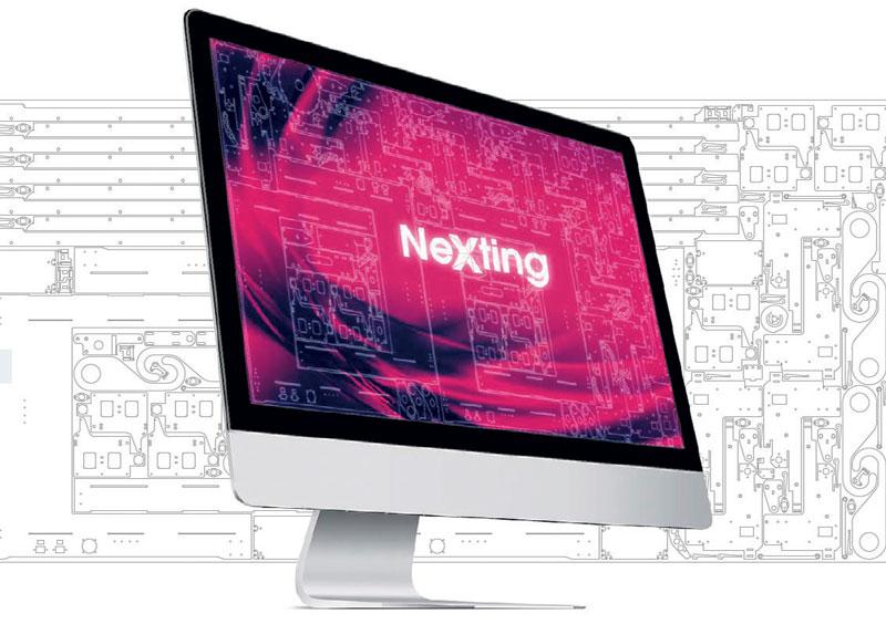 NEXTING è il nuovo algoritmo di nesting migliorato sviluppato da Libellula.