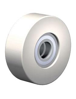 Rotella in Poliammide disponibile come singolo componente oppure impiegata nelle unità combinate degli elevatori WINKEL.