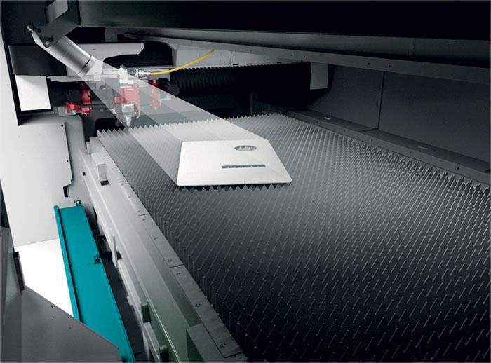 SVS, acronimo di Sheet/Scrap Vision System, permette di riutilizzare gli spezzoni di lamiera.