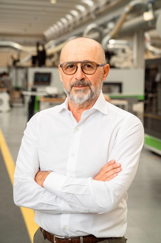 Roberto Selci, Amministratore Delegato di Biesse Group.