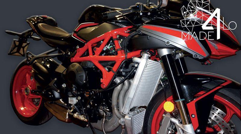 Il primo collettore di scarico per motocicli prodotto tramite ecnologia Laser Metal Deposition