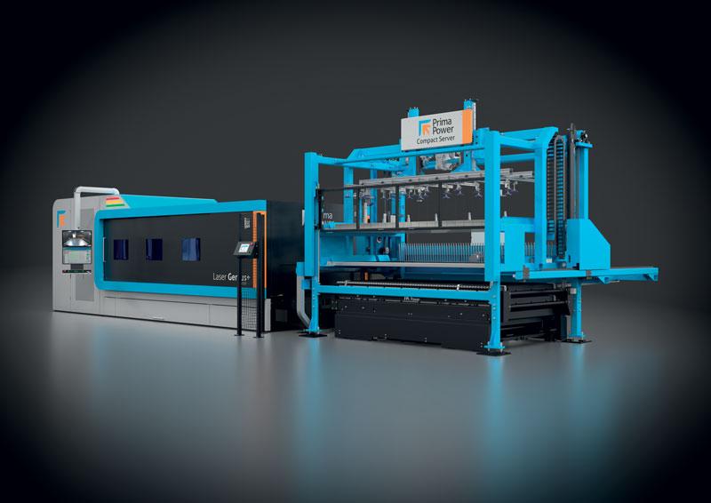 Prima Power ha sempre investito in automazione e automatizzazione del processo.