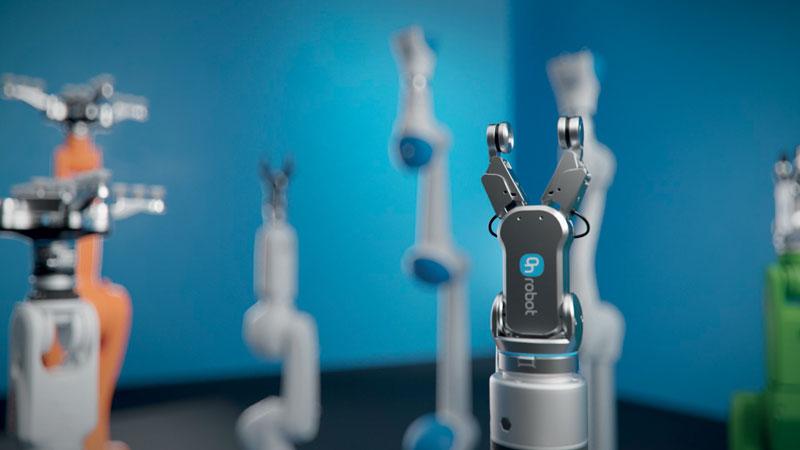 La gamma di soluzioni OnRobot include un ricco portfolio di strumenti per applicazioni collaborative.