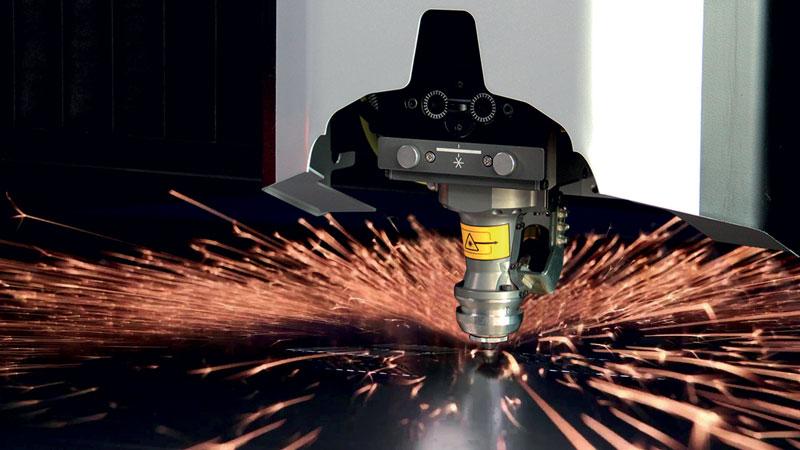 La testa laser fibra 2D di Prima Power offre prestazioni elevate, alta affidabilità e ridotta manutenzione.
