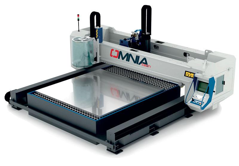 Il sistema di taglio plasma Omniatech sviluppato da Soitaab.