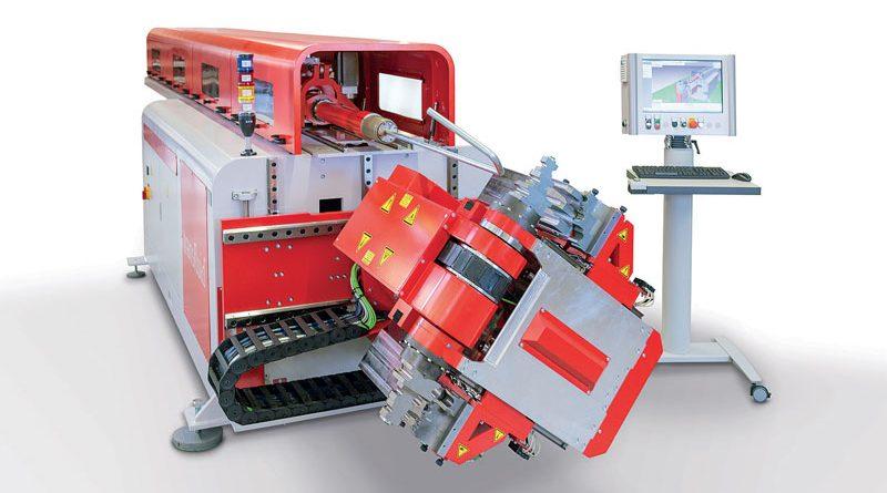 La flessibilità delle macchine piegatubi CNC ad alta tecnologia della transfluid offrono processi di piegatura particolarmente economici e precisi.