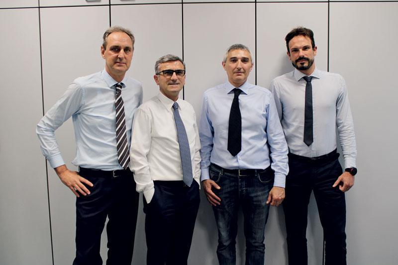 I quattro fondatori di Stragroup.Tech.