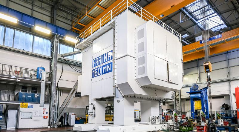 La linea di forgiatura meccanica più grande del mondo