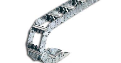 Ecco le catene portacavi in acciaio, robuste e prive di manutenzione