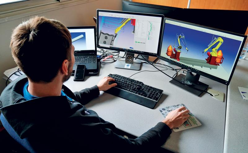 Alma offre il prodotto almaCAM Weld per la saldatura robotizzata, integrato nella gamma di prodotti 3D.