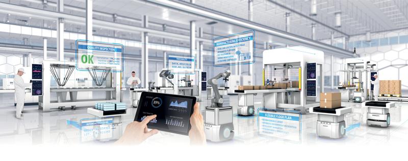 OMRON promuove il concetto di i-Automation, l'idea cioè della fabbrica del futuro dove Integrazione, Intelligenza e Interattività sono i capisaldi.