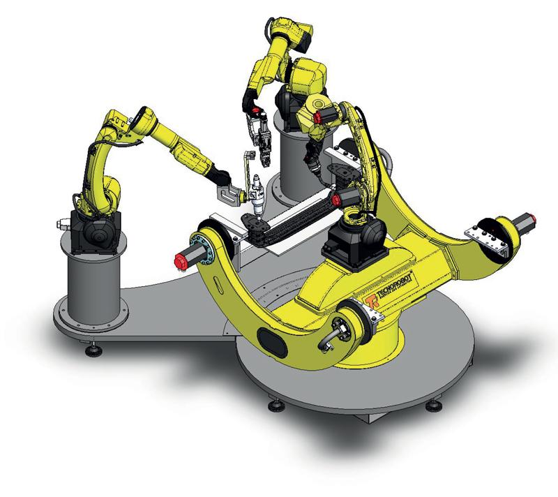 Il robot deve essere in grado di interagire e comunicare con le periferiche più differenti.