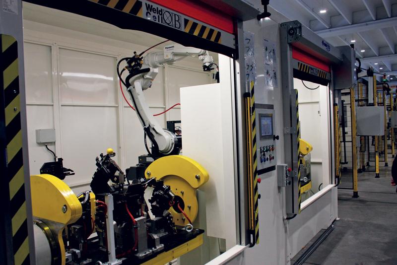 Le celle di Roboteco Italargon sono molto flessibili e consentono di ottenere buoni risultati anche a utenti inesperti e possono appagare i saldatori più specializzati.