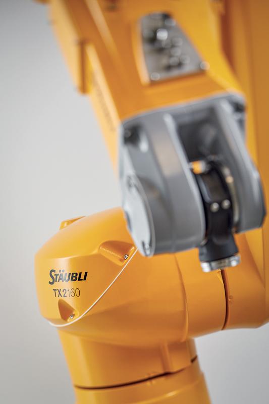 All'interno della gamma Stäubli, tutte le taglie di robot sono sempre disponibili in tutte le varianti.