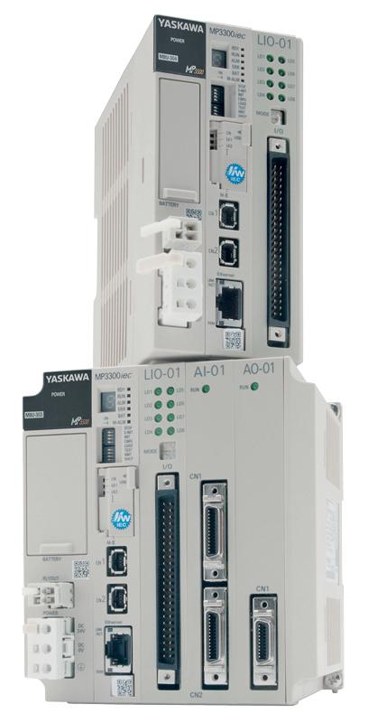 Il nuovo Machine Controller compatto MP3300iec RBT di Yaskawa.