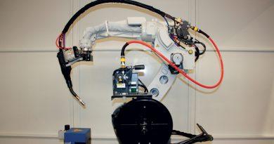 Una saldatrice robotizzata, non un robot di saldatura!