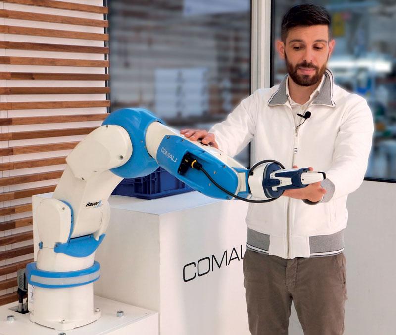 Il robot collaborativo  con un'anima industriale