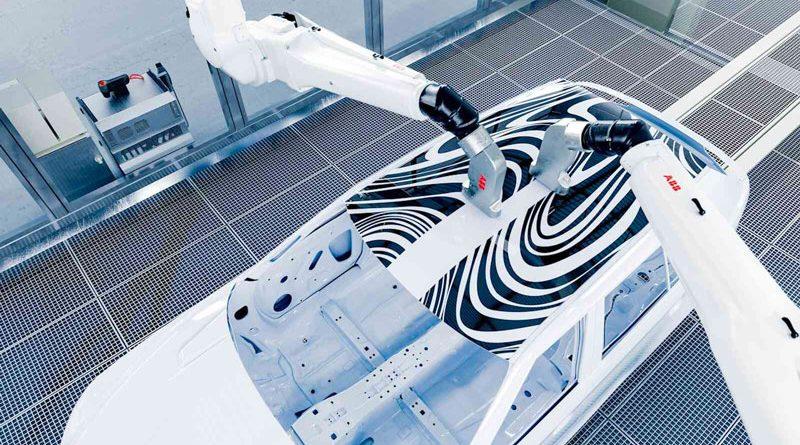 Il Robotics Award 2021 va al PixelPaint car painting di ABB