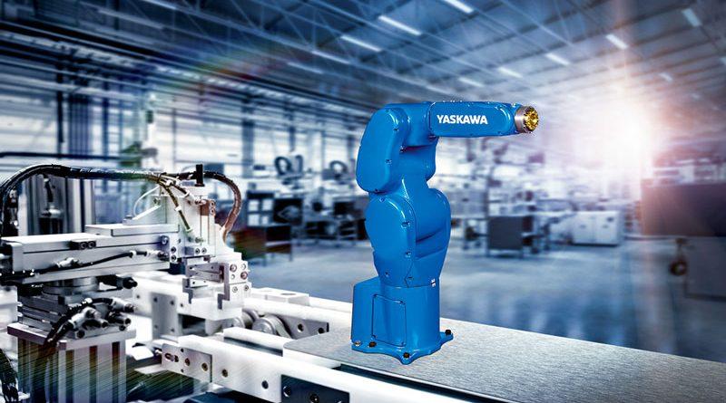 Come robot a 6 assi, Motoman GP4 è ideale per il pick & place moderno e flessibile di piccoli pezzi
