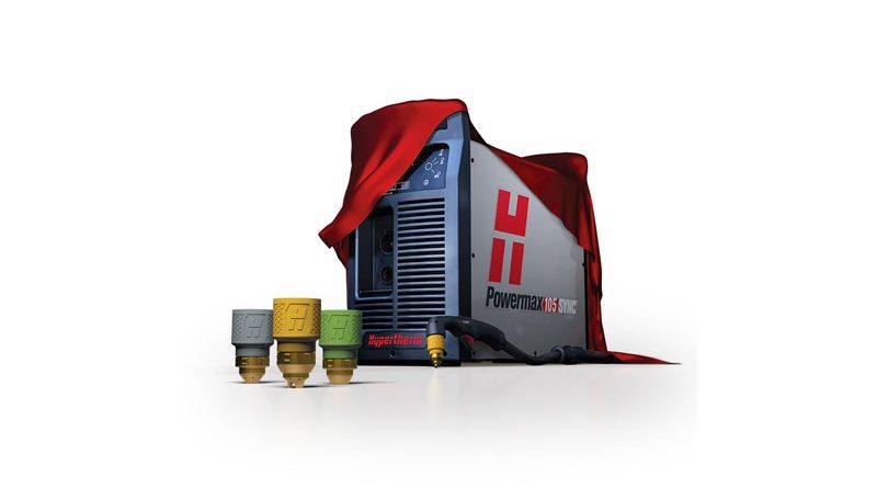 Hypertherm ha annunciato i nuovi sistemi al plasma ad aria Powermax SYN dotati di intelligenza integrata e di cartuccia per consumabili monoblocco