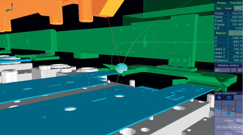 ADMS (AIDA Digital Motion System) analizza e ottimizza la gestione dei transfer per presse servo e meccaniche.