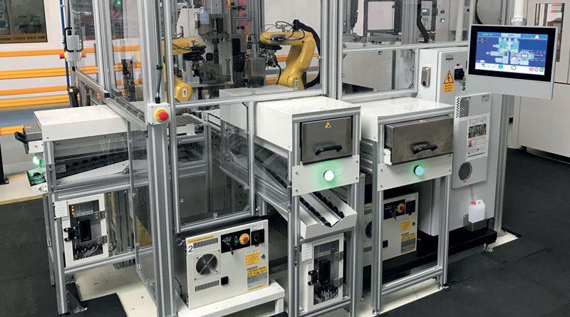SELMEC servo pressa di ultima generazione per un impianto automotive.