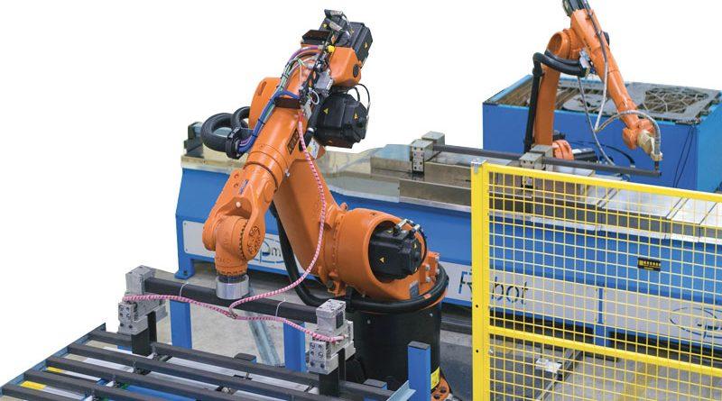 CN-Robotic è l' isola di lavoro robotizzata di oPm che, grazie alla tecnologia di lavoro a 7 assi e all'intuitivo software Cad/Cam per il riconoscimento delle lavorazioni sul profilo inserito, consente la lavorazione su profilati di diverse tipologie con risultati performanti anche in condizioni difficili.