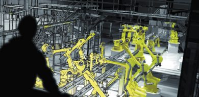 Virtual Modeling of Manufacturing Operations with 3D Data