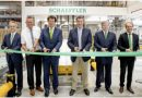 Opening of a new logistics center