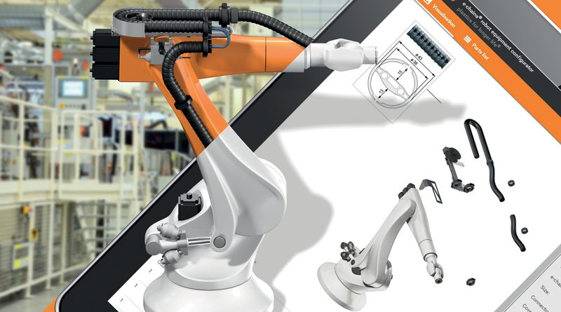 Configuring the Right Robot Equipment in Just a Few Clicks
