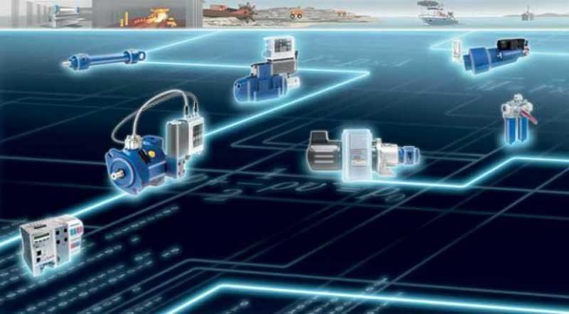 Le fabbriche al tempo dell'oleodinamica interconnessa