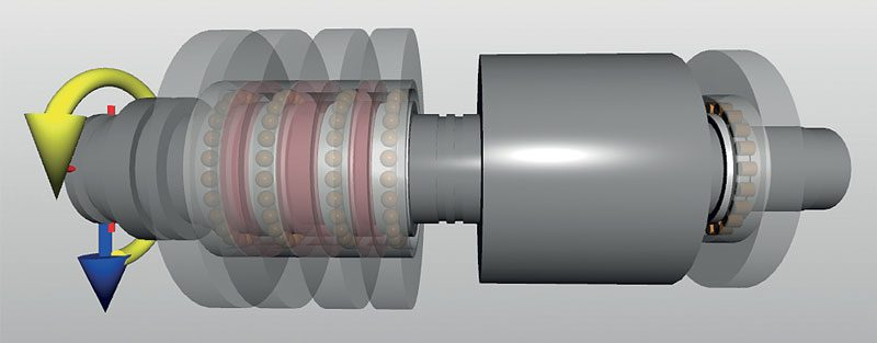 Spindle Bearing Advanced Simulation Tool