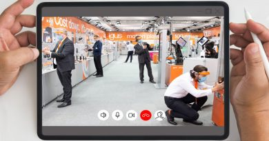 100 new products at the virtual trade show stand