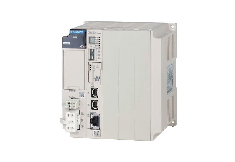 Il controllore all-in-one della serie MP combina in una singola piattaforma tutte le funzioni richieste per la macchina, tra cui motion, PLC, I/O e algoritmi di logica sequenziale e di processo.