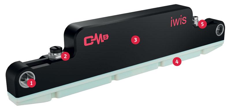 Il sistema CCM-S per il Condition Monitoring delle catene sviluppato da iwis.