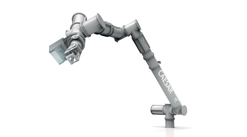 For the development of the robot arm, the DLR was able to draw on its experiences with ROKVISS, the predecessor model which served in space.