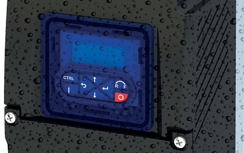 i550 protec garantisce la efficienza operativa con temperature elevate, polvere o getti d'acqua.