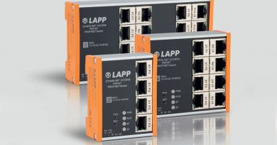 LAPP ha recentemente arricchito di nuovi modelli la famiglia di switch ETHERLINE® ACCESS. l LAPP has recently enriched the ETHERLINE®