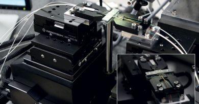 Tecnologia a fibre ottiche e fotonica: da oltre due decenni Aerotech offre supporto ad aziende di telecomunicazioni e data center con soluzioni di produzione e posizionamento ad alta precisione.