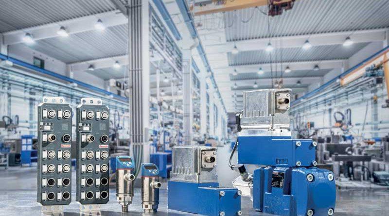 Con Connected Hydraulics, Bosch Rexroth apre la strada alla connettività per le sue valvole proporzionali.